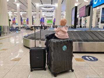 Ankunft am Dubai International Airport