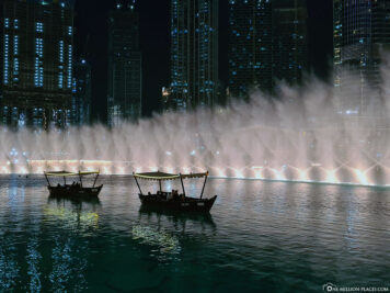 Lake Ride vor dem Dubai Fountain