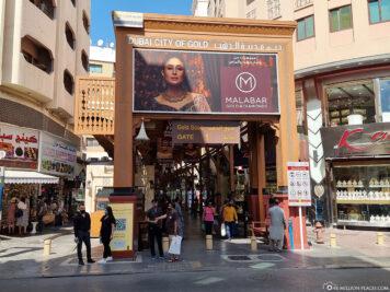 Eingang zur City of Gold