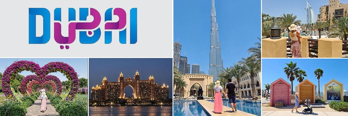 Dubai Reiseberichte, Fotocollage