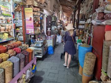 Der Gewürzmarkt in Dubai
