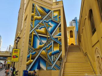 JBR Street Art Painting