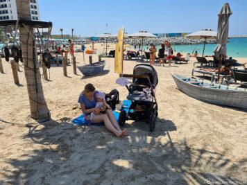 Entspannen am Strand von La Mer