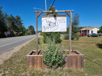 Der Campingplatz Bivouak
