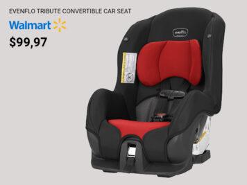 The evenflo child seat at Walmart