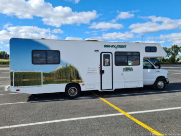 The C30 Camper from Cruise Canada