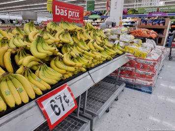 Prices for bananas