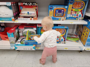 The exciting toy department