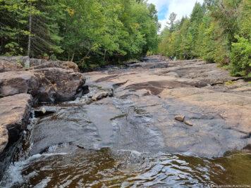Die Wasserfall-Kaskaden