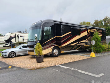 A whole bus as a camper
