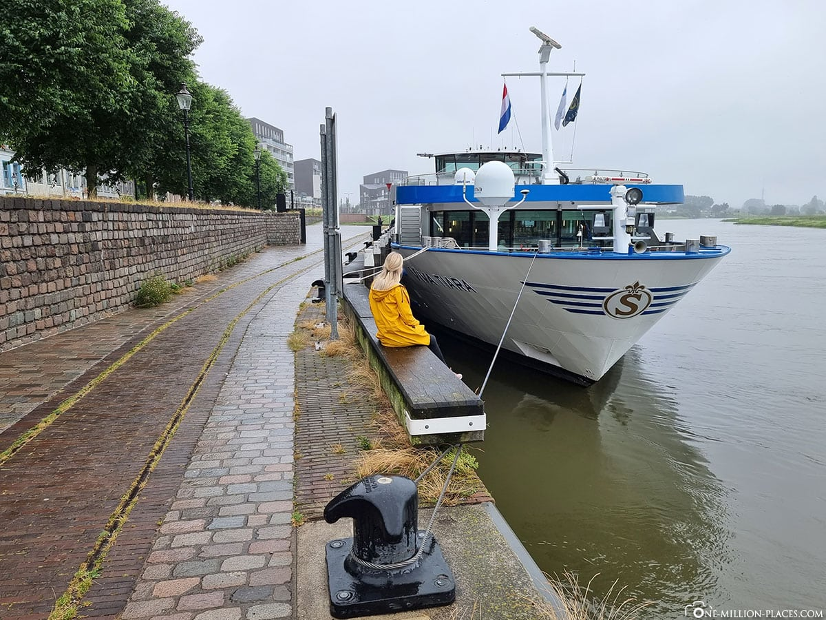 Deventer, Anlegestelle, Viva Cruises, Flusskreuzfahrt