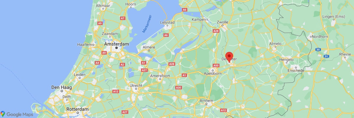 Deventer, Google Maps, Karte