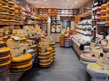 Ein Käseladen