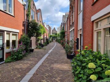 Alley in Dordrecht