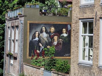The mural De Grachtwacht