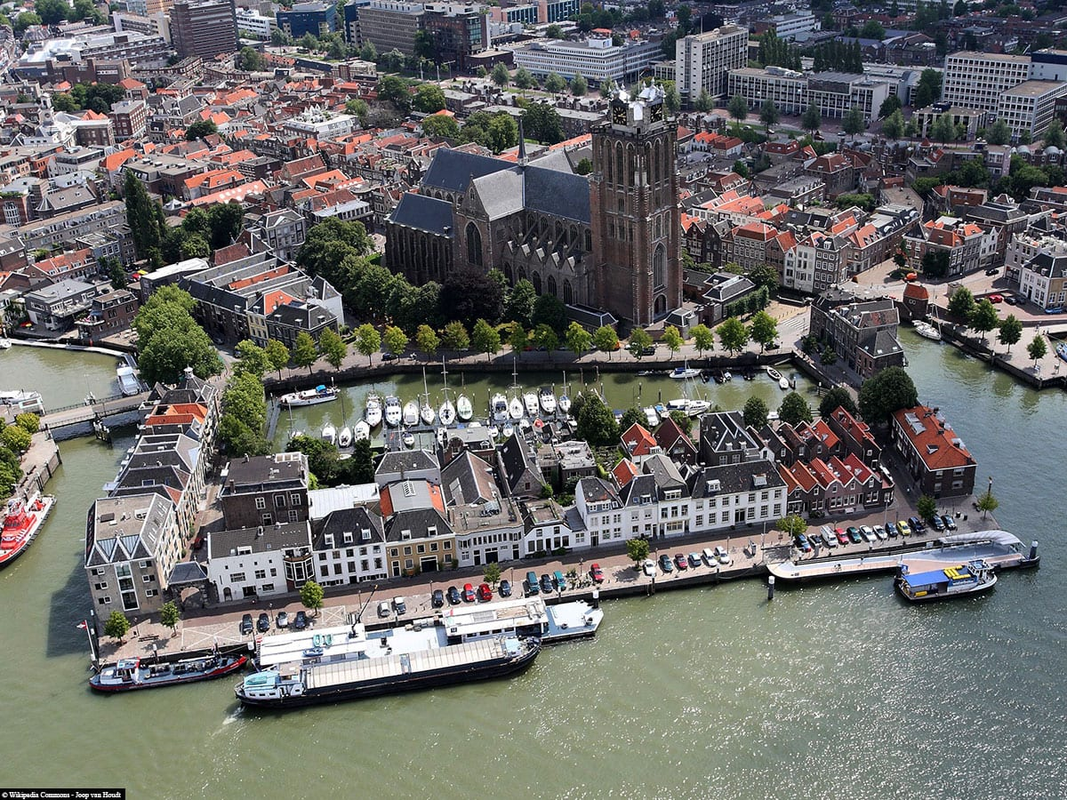Dordrecht, Things to knowAerial view