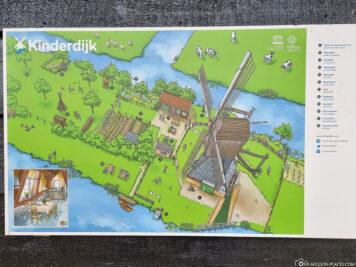 The museum windmill Blokweer