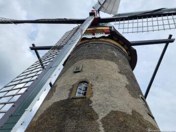 The museum windmill Nedewaard