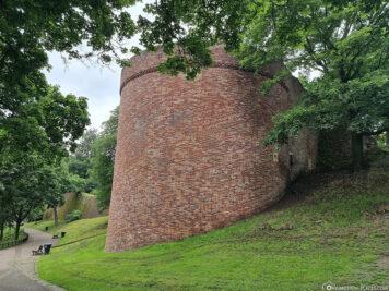 Überreste der mittelalterlichen Stadtmauer