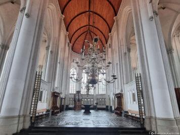 Der Innenraum der Stevenskerk