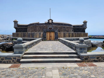 Das Castillo de San Juan Bautista