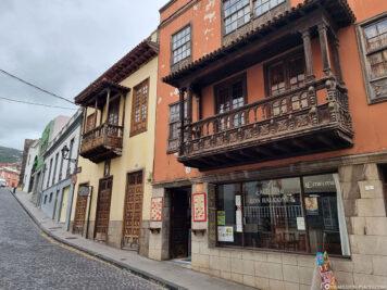 The old town of La Orotava