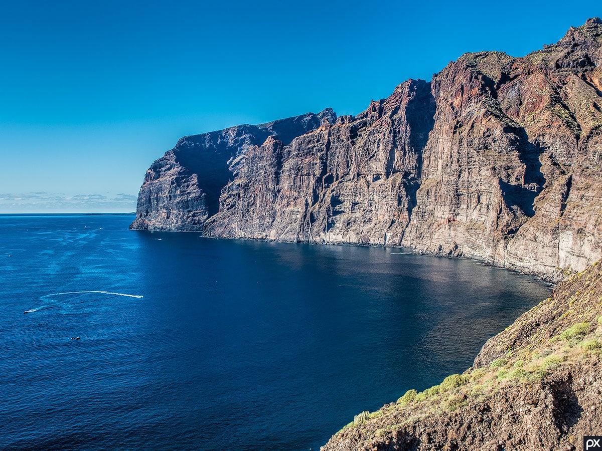 Los Gigantes, Teneriffa, Steilklippe, Sehenswürdigkeiten