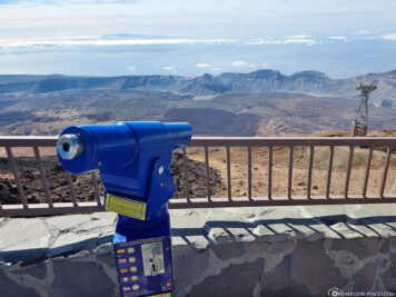 The view from teide volcano
