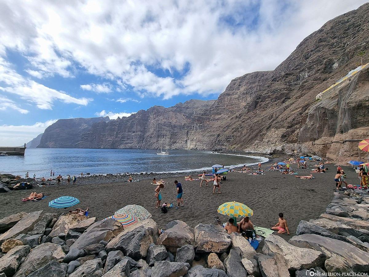 Playa de Los Guíos, Los Gigantes, Teneriffa, Aussichtspunkt