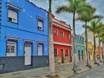 Die schönen bunten Häuser