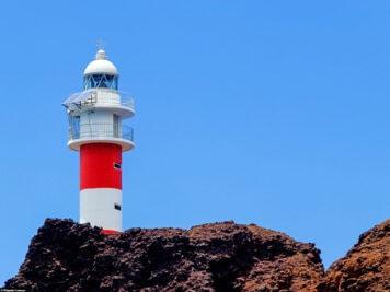 The lighthouse Faro de Teno