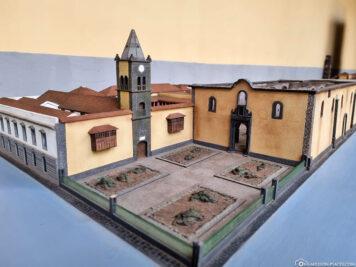Stadtmodell in der Touristeninformation