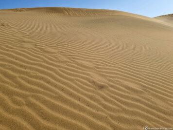 The sand dunes of Maspalomas