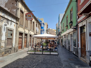 The old town of Las Palmas