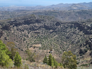 The Caldera de Bandama
