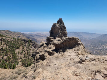 View of the Morro de la Agujereada