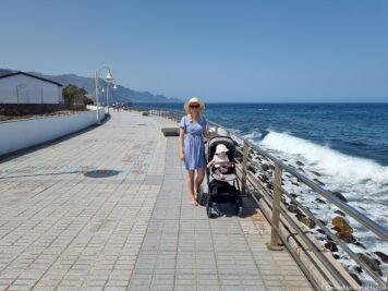 The coastal town of Puerto de las Nieves