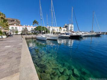 The port of Puerto de Mogan