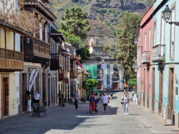The old town of Teror