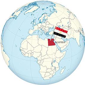 Ägypten Globe
