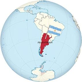 Argentina Globe