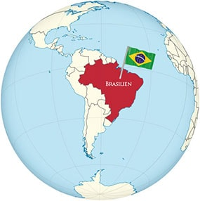 Brasilien Globe