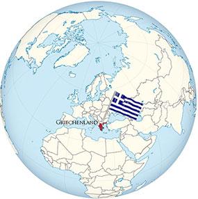 Greece Globe