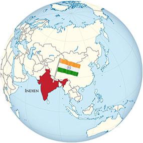 Indien Globe