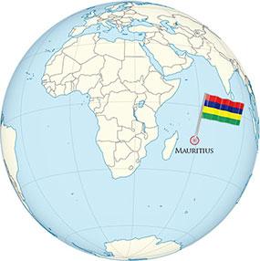 Mauritius Globe