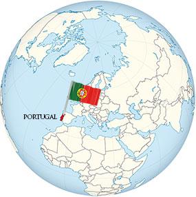 Portugal Globe