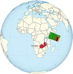 Sambia Globe
