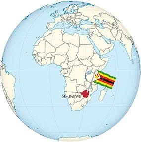 Simbabwe Globe