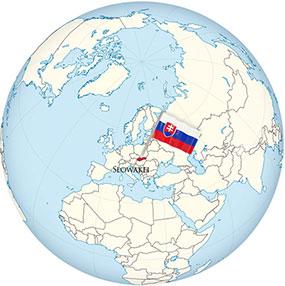 Slowakia Globe