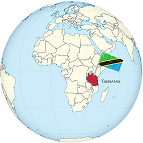 Tansania Globe